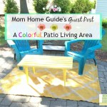 Guest Post – A Colorful Patio Living Area
