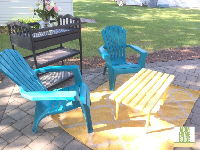 MHG outdoor living space