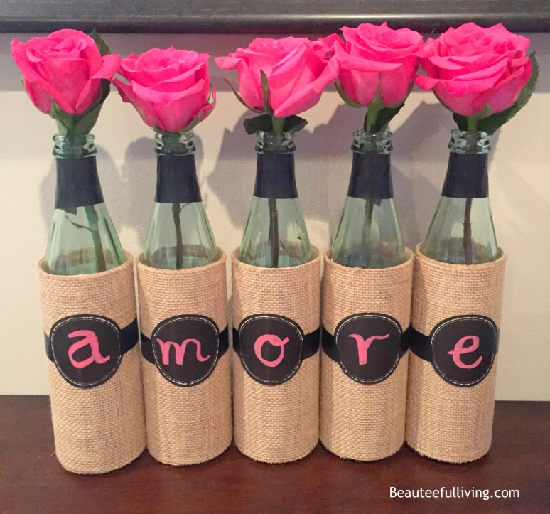 Amore wine bottles beauteefulliving