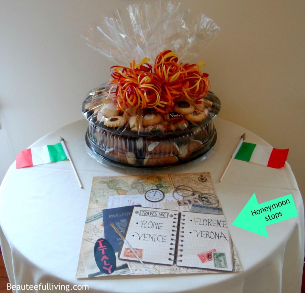 Italy honeymoon stops