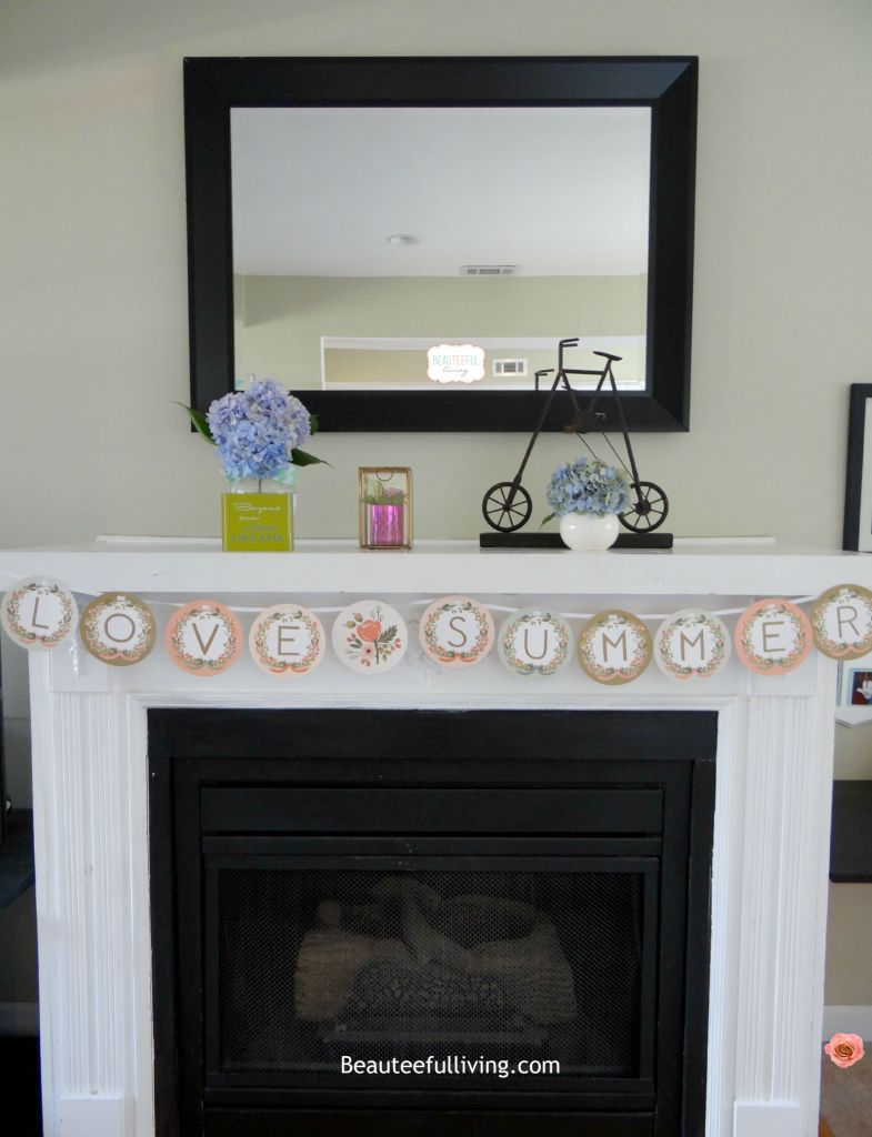 Summer Fireplace - Beauteeful Living