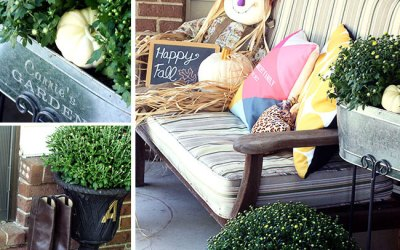 Fall Porch Tour By Curly Crafty Mom