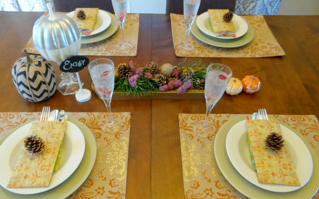 Holiday Craftacular – Elegant Fall Tablescape