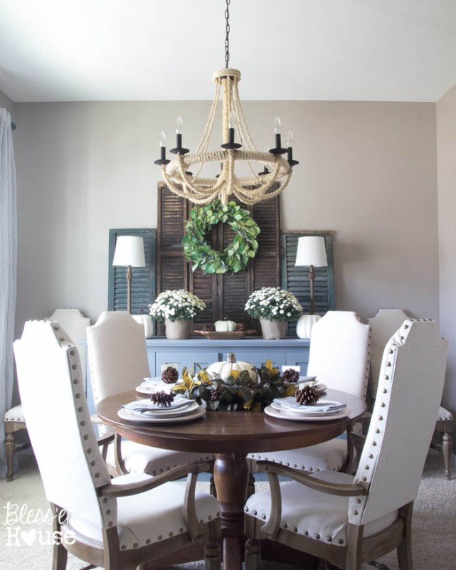 Blesser House - Fall-Home-Tour