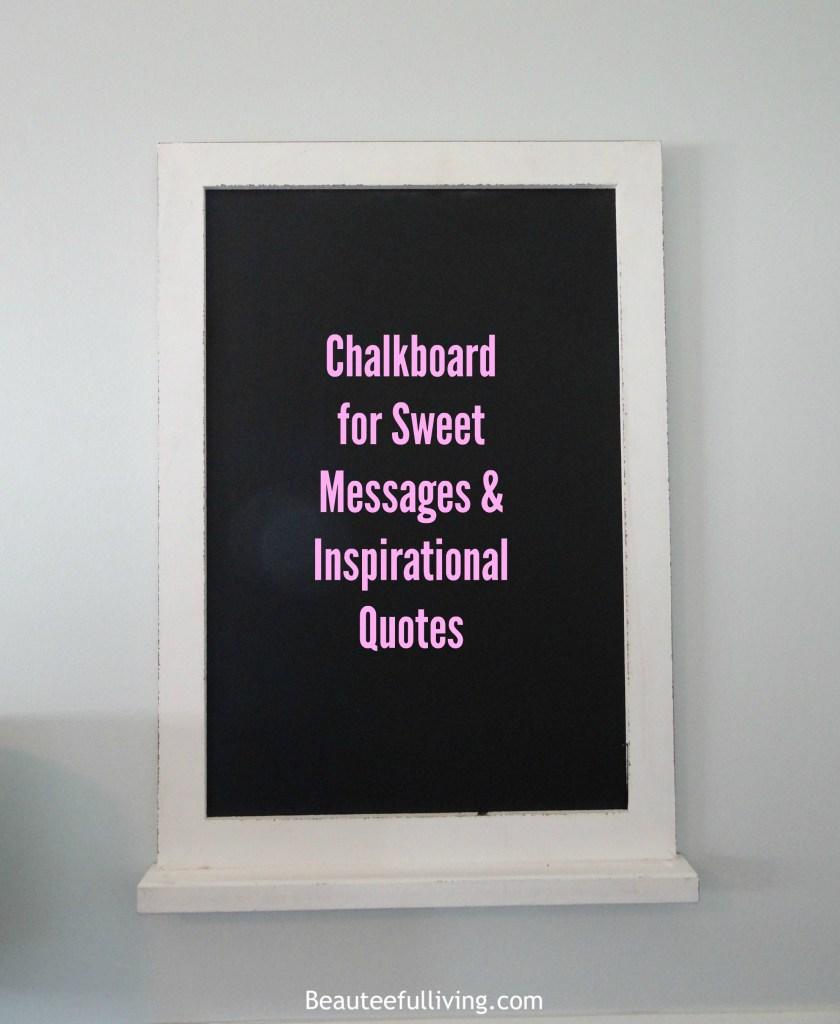 Chalkboard - Beauteeful Living