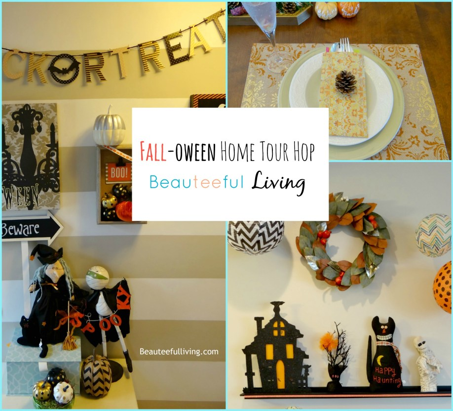 Falloween Home Tour1 - Beauteeful Living
