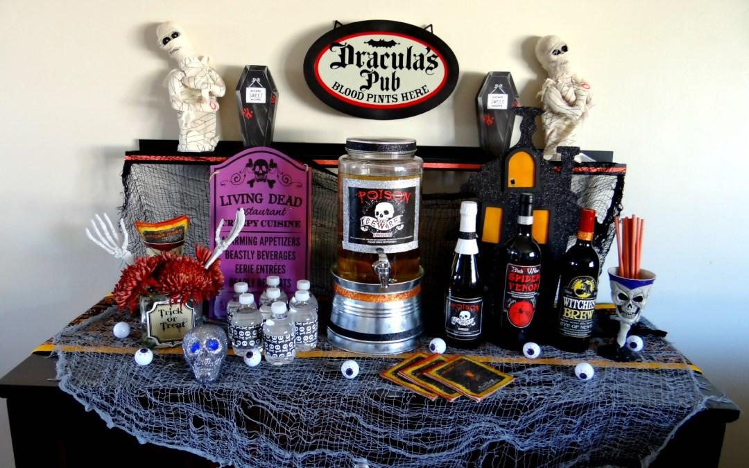 My Spooky Drink Bar