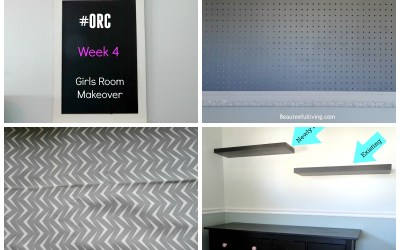 One Room Challenge – Week 4 (Girls Room)