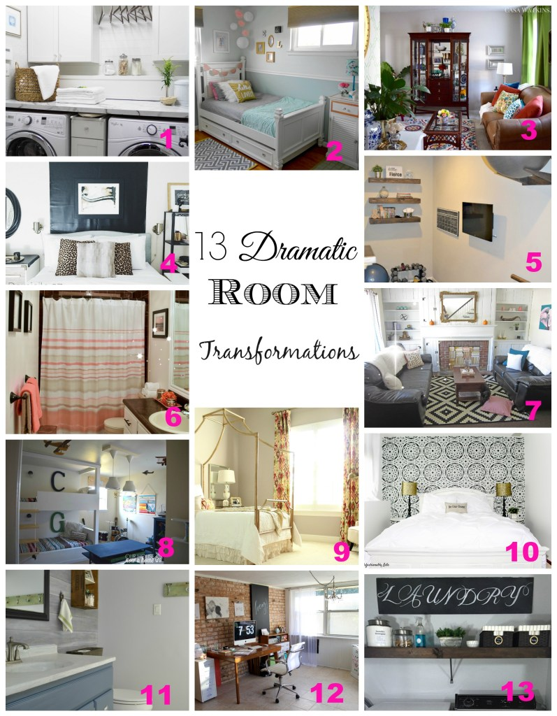 13 Dramatic Room Makeovers - Beauteeful Living