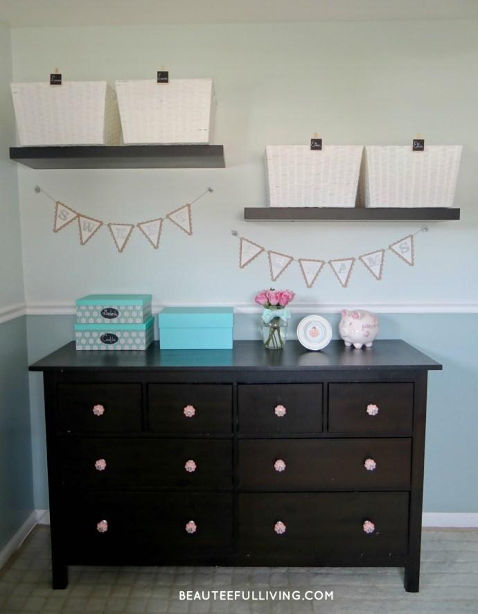 Dresser and Baskets - Beauteeful Living