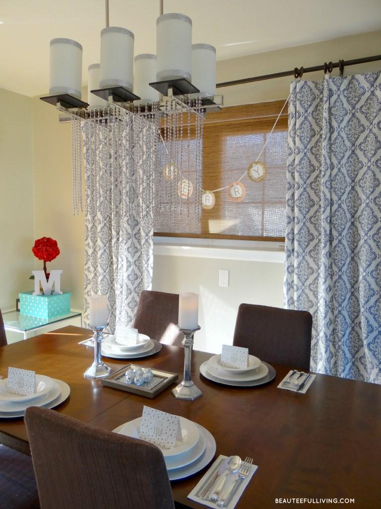 Christmas Dining Room - Beauteeful Living