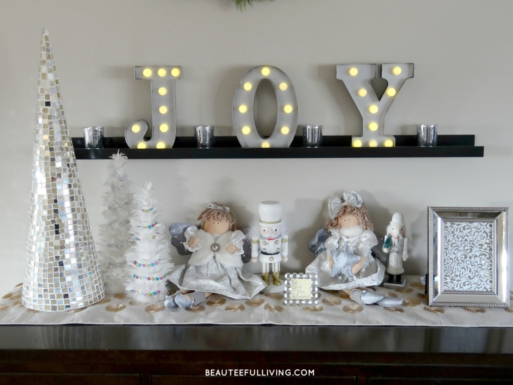 Christmas Table Display - Beauteeful Living