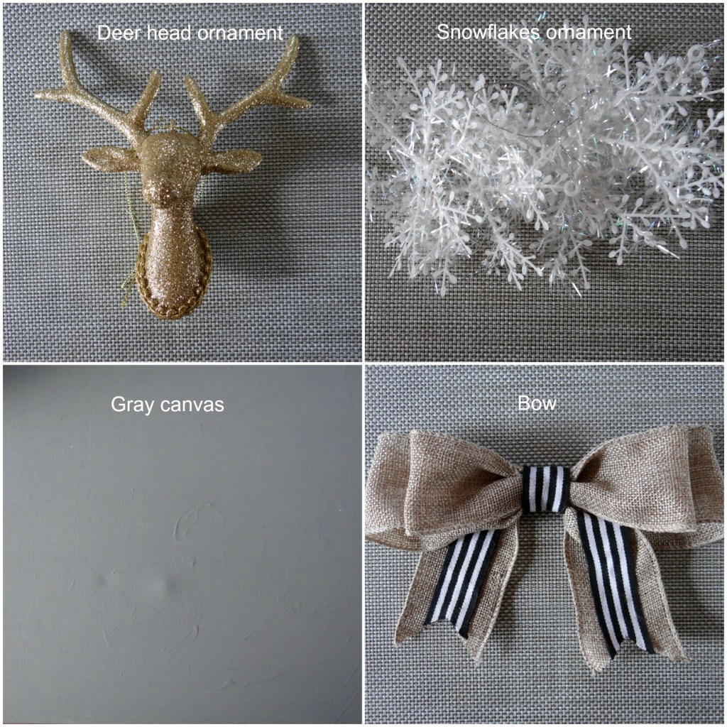 Items needed for Holiday Wreath - Beauteeful Living