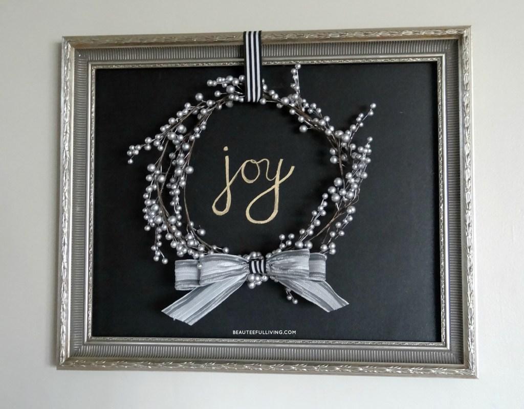 Joy Holiday Frame - Beauteeful Living