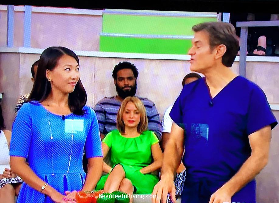 Dr Oz Newspaper Segment - Beauteeful Living