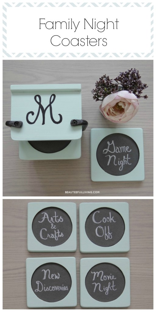 Family Night Coasters Pin - Beauteeful Living