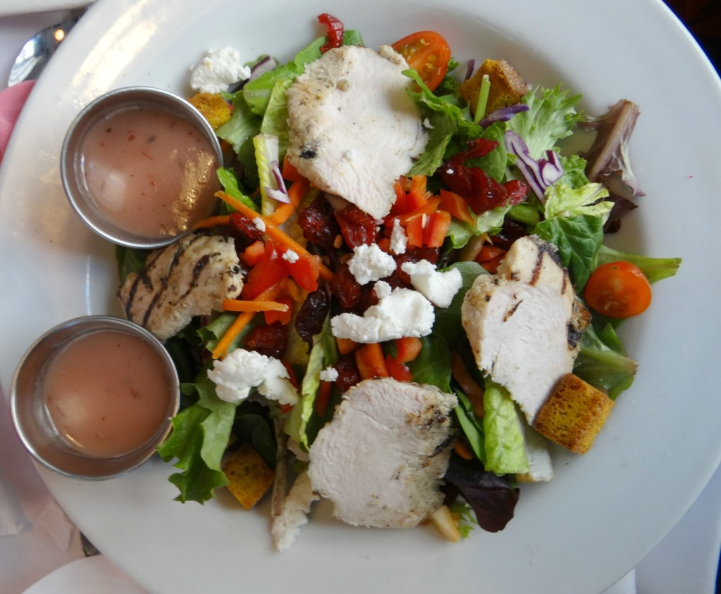 Cranberry salad at AGD