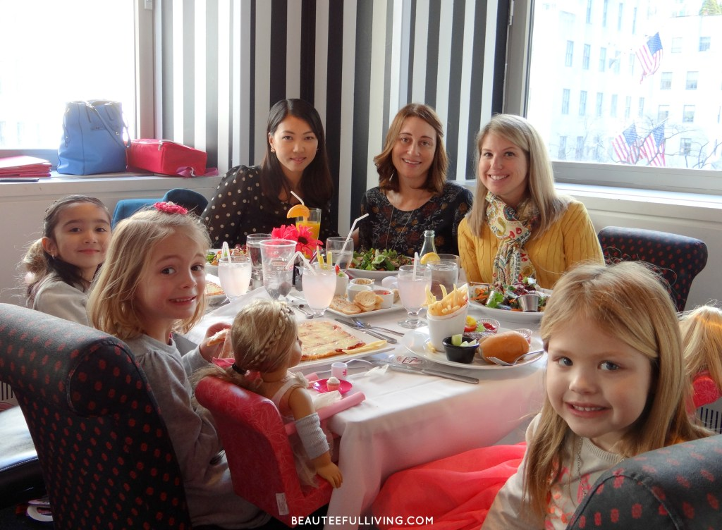 Lunch at American Girl Cafe in NY