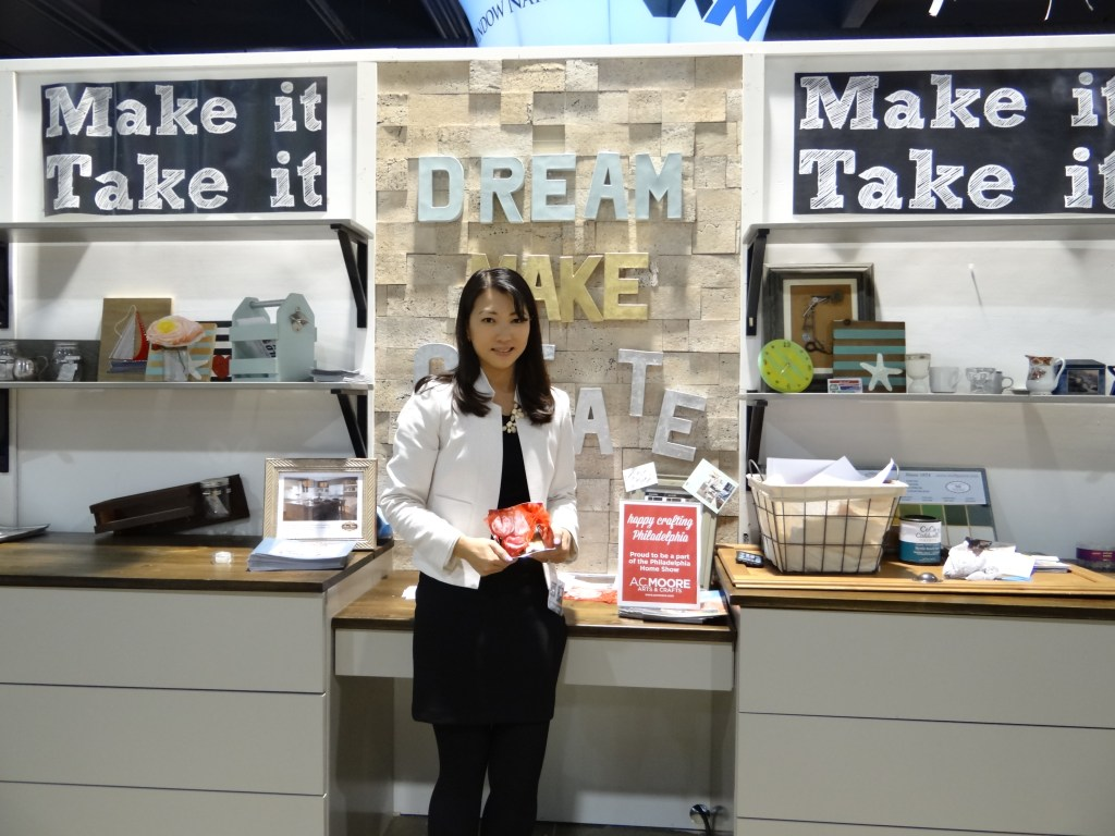 Make and Take Workshop at Philly Home Show