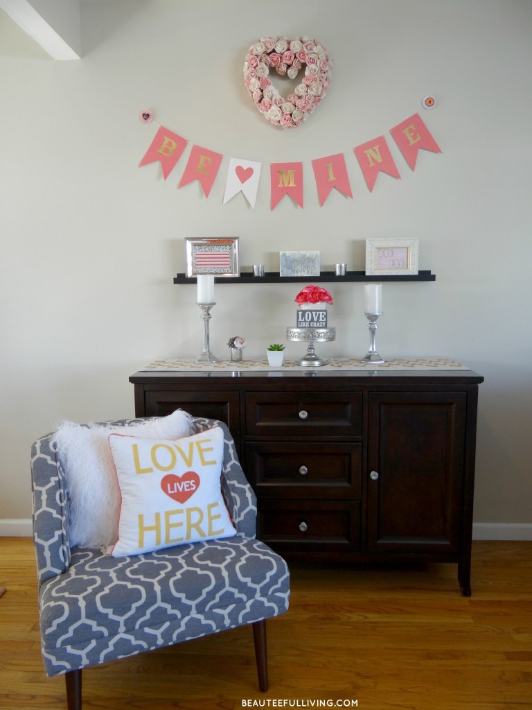 Valentines Day Decor full display - Beauteeful Living