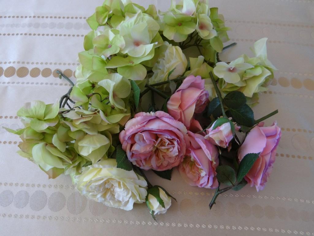 Cut Silk Flowers