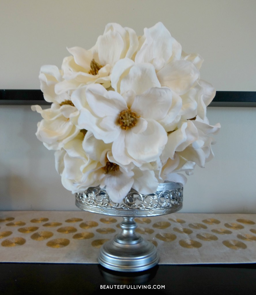 Magnolia Flower Ball - Beauteeful Living