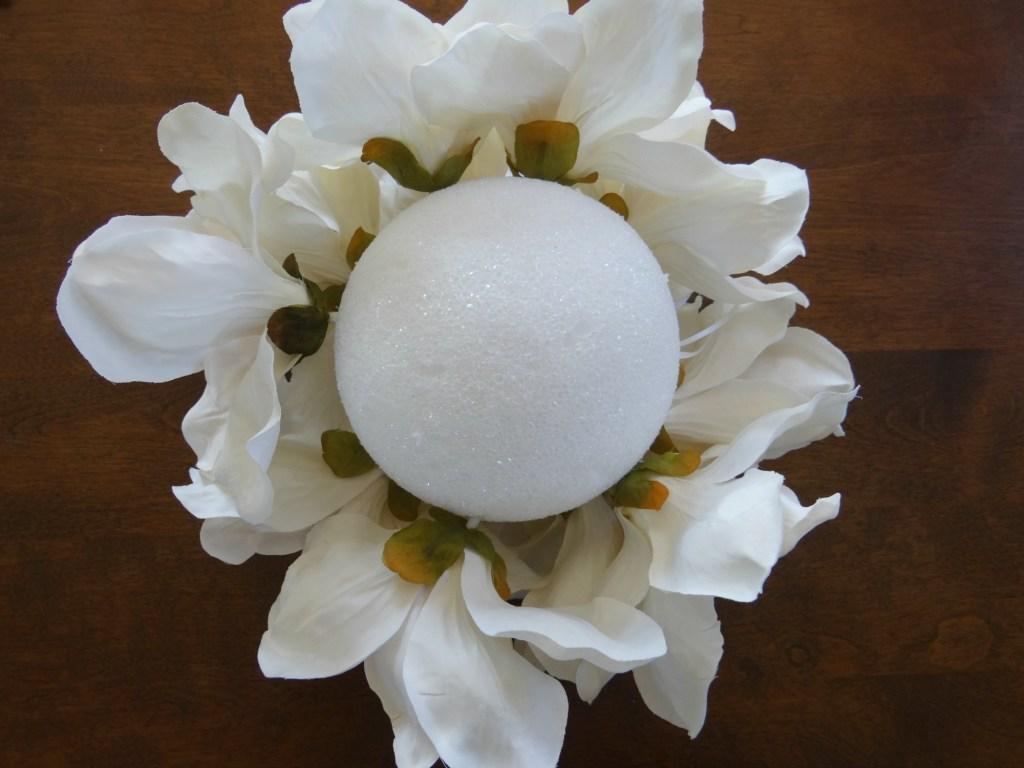 Magnolia Flower Ball Half