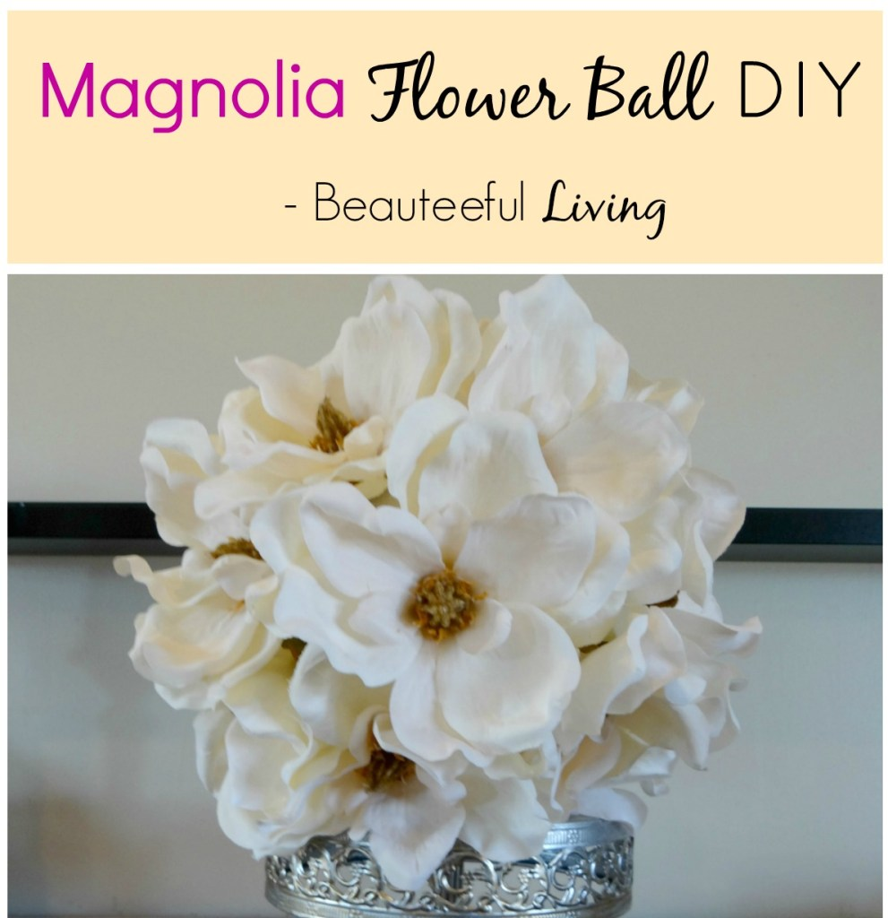 Magnolia Flower DIY