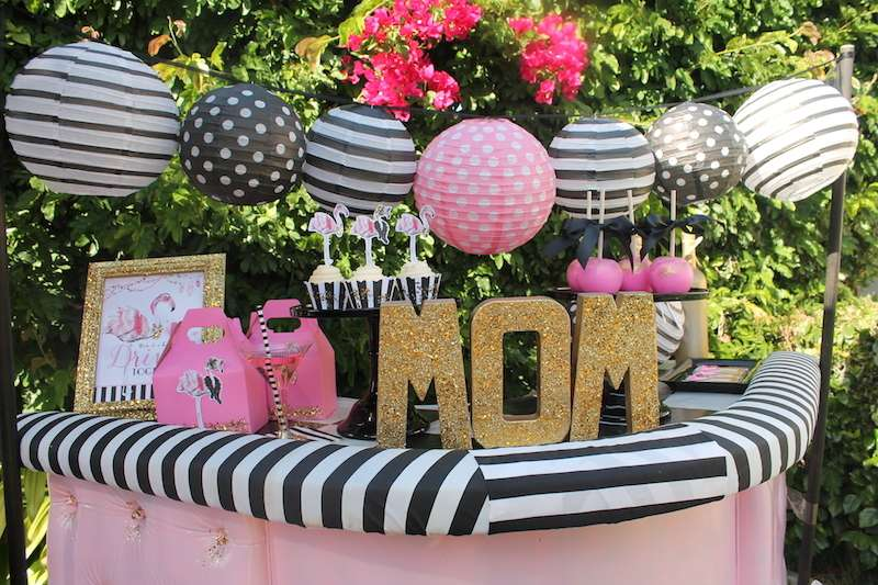 Flamingo themed Mothers Day Party via CatchmyParty