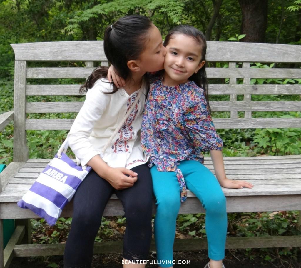 Kisses for little sister