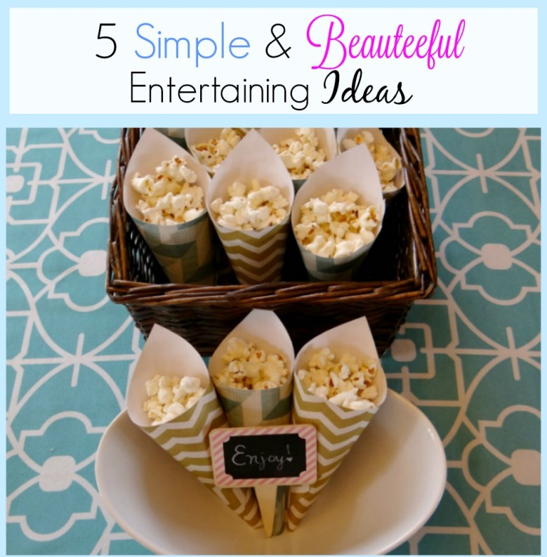 5 Simple Entertaining Ideas - cover