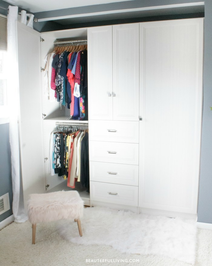 Closet Possible Armoire Left Side - Beauteeful Living