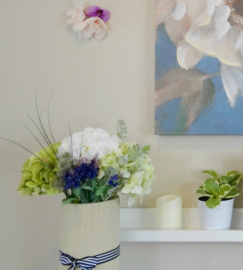 Spring Mantel Featured Image