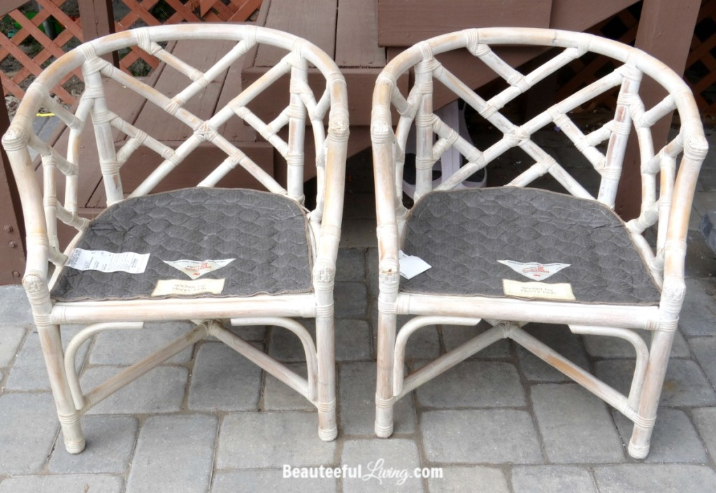 Bamboo Chairs Before