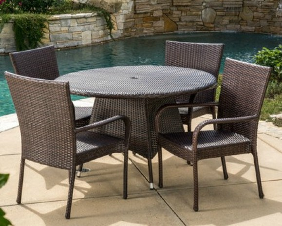Bexton 5 Piece Dining Set