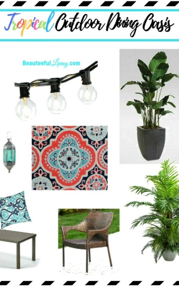 Tropical Patio Oasis - Beauteeful Living
