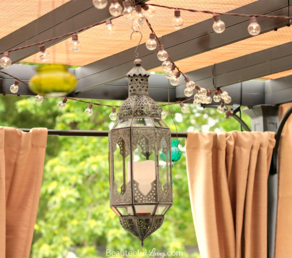 World Market lantern - Beauteeful Living