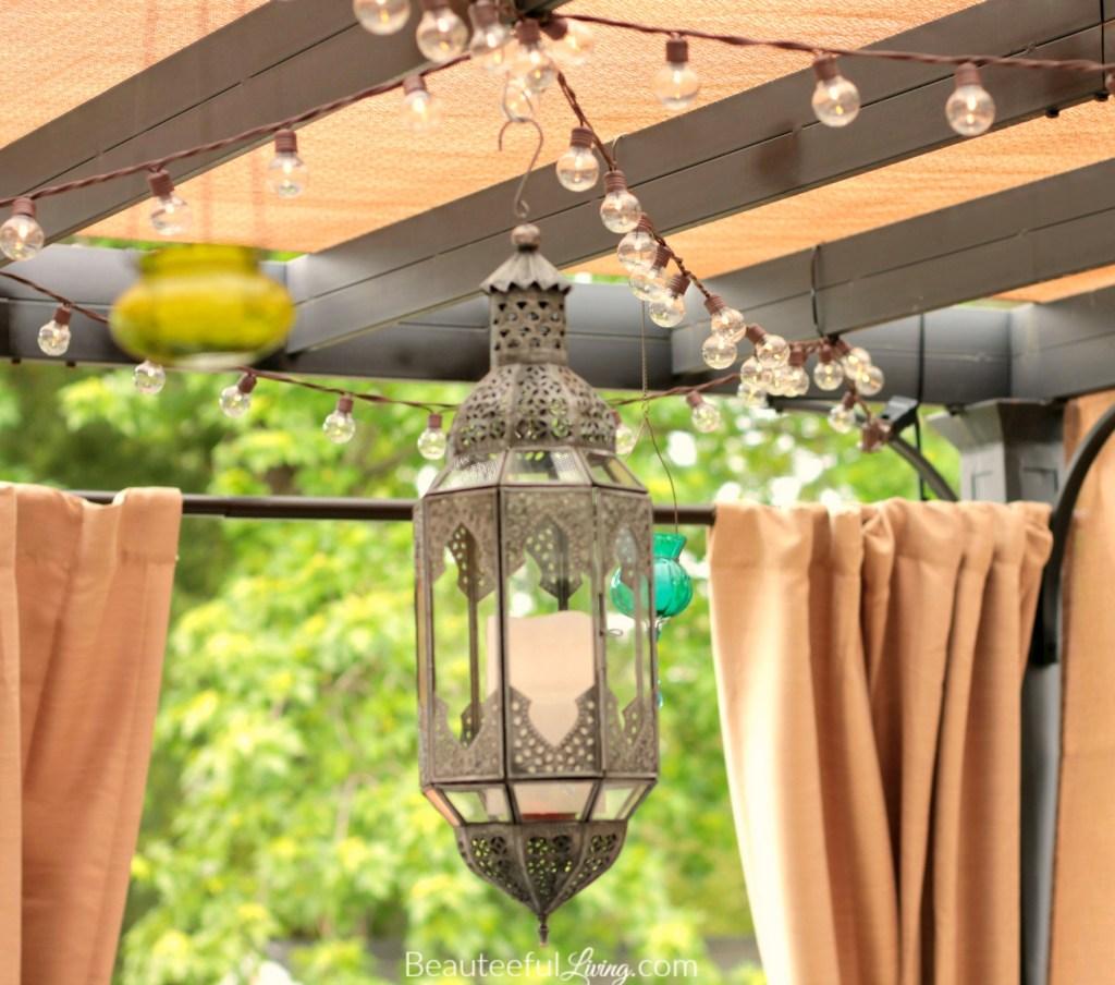 World Market lantern - Beauteeful Living