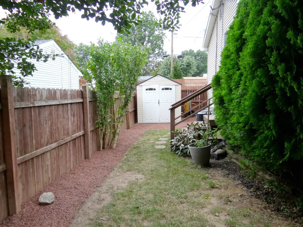Side Yard After - Beauteeful Living