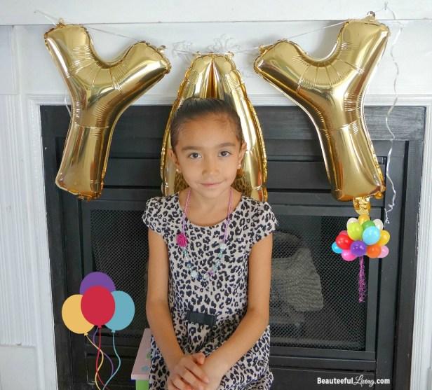 Birthday girl turning 7