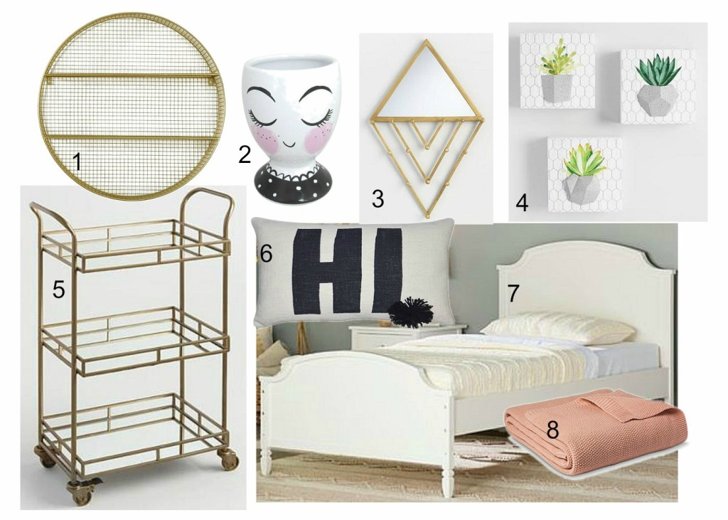 Hipster Chic Girls Room