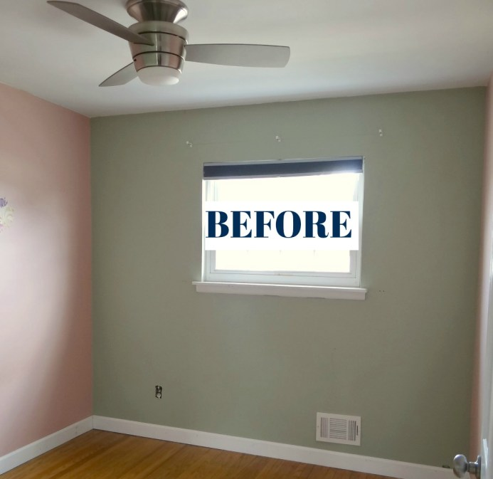 Small Bedroom Before Photo