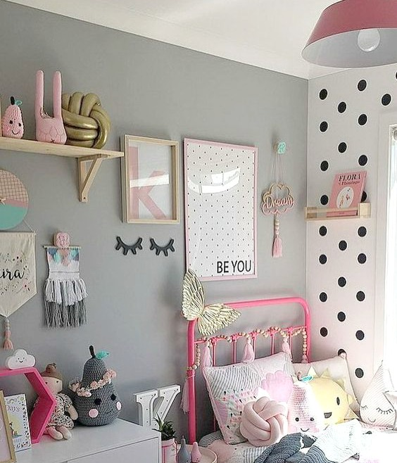 Whimsical Girls Room Decor