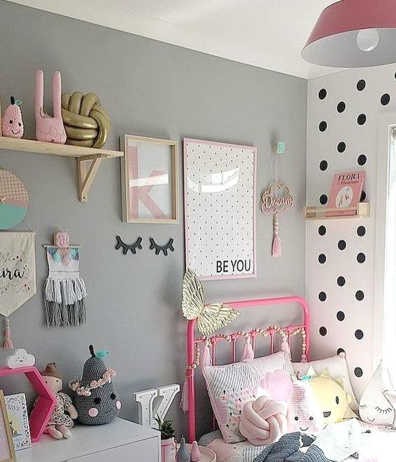 Whimsical Girls Room Decor