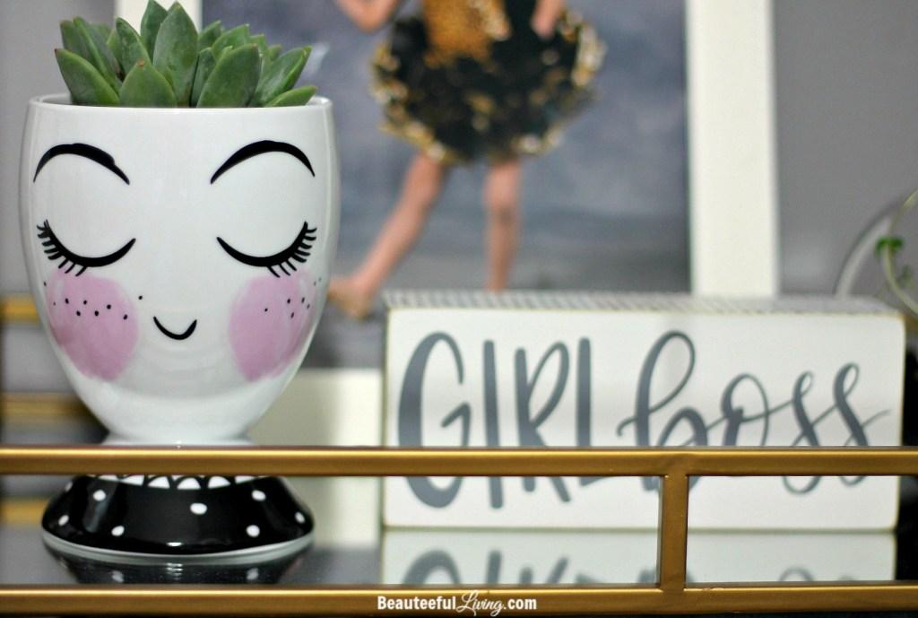 Eyelash ceramic cup