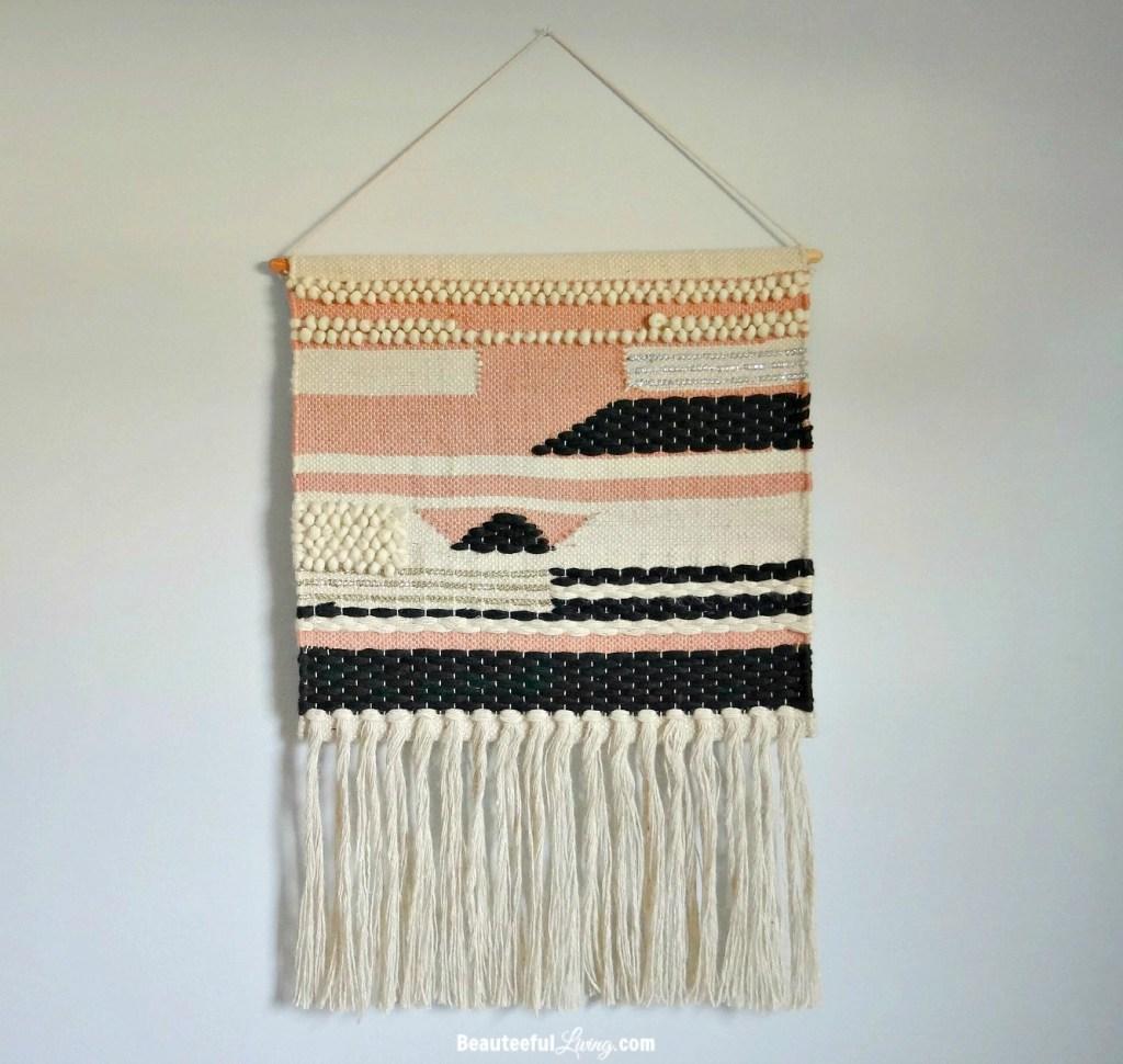 Woven wall hang - Beauteeful Living