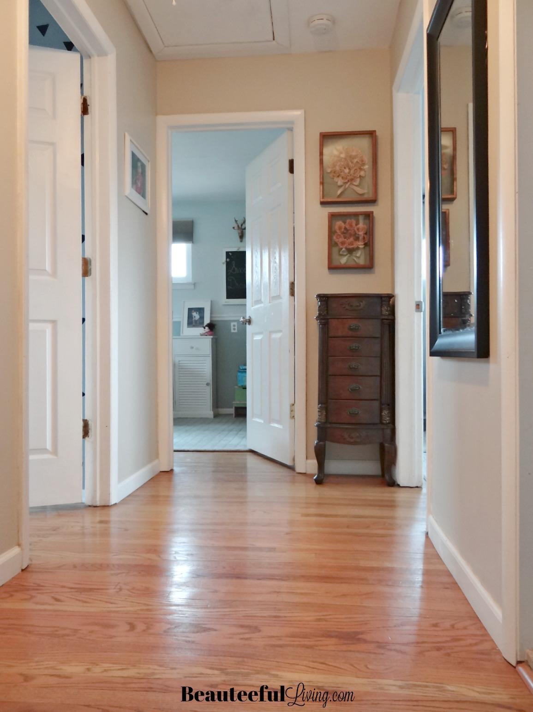 Full Length Mirror Hallway