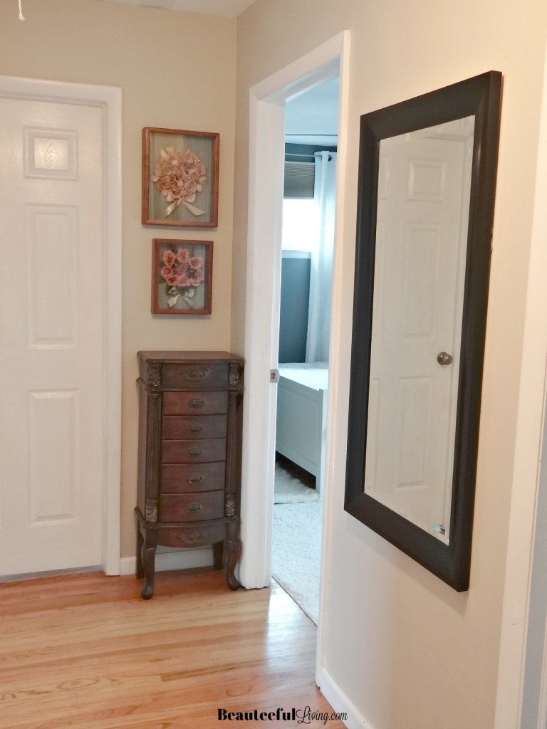 Hallway by bedroom