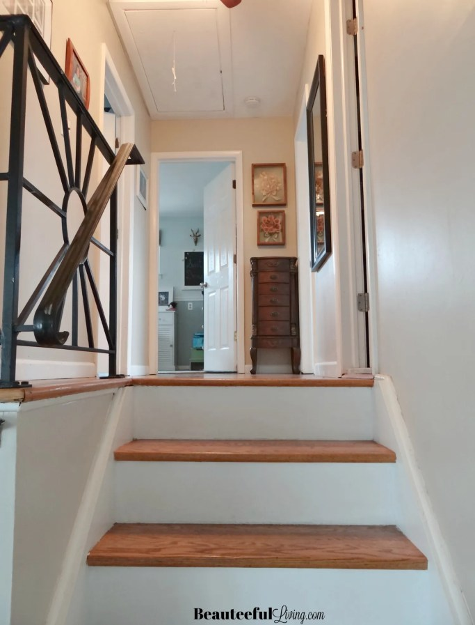 Stairs to Bedroom Hallway