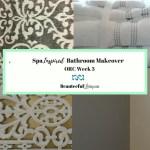 Spa Inspired Bathroom Makeover – ORC Week 3